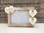 Shabby personalised Chic Photo Frame Special Best Friend Friendship Any Name - 253965276243